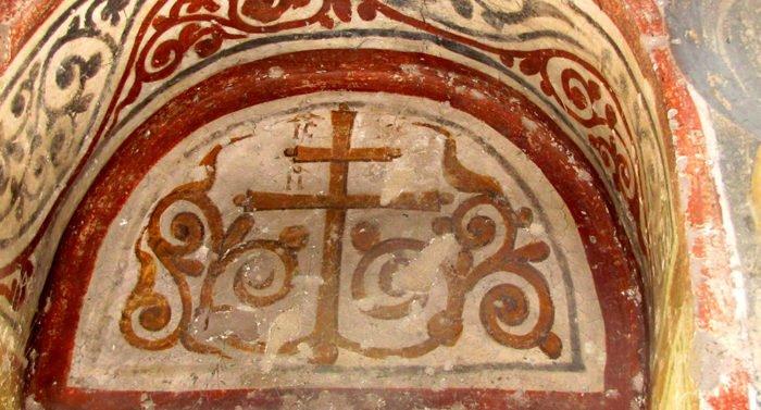Что означает  изображение Креста  с ветвями?