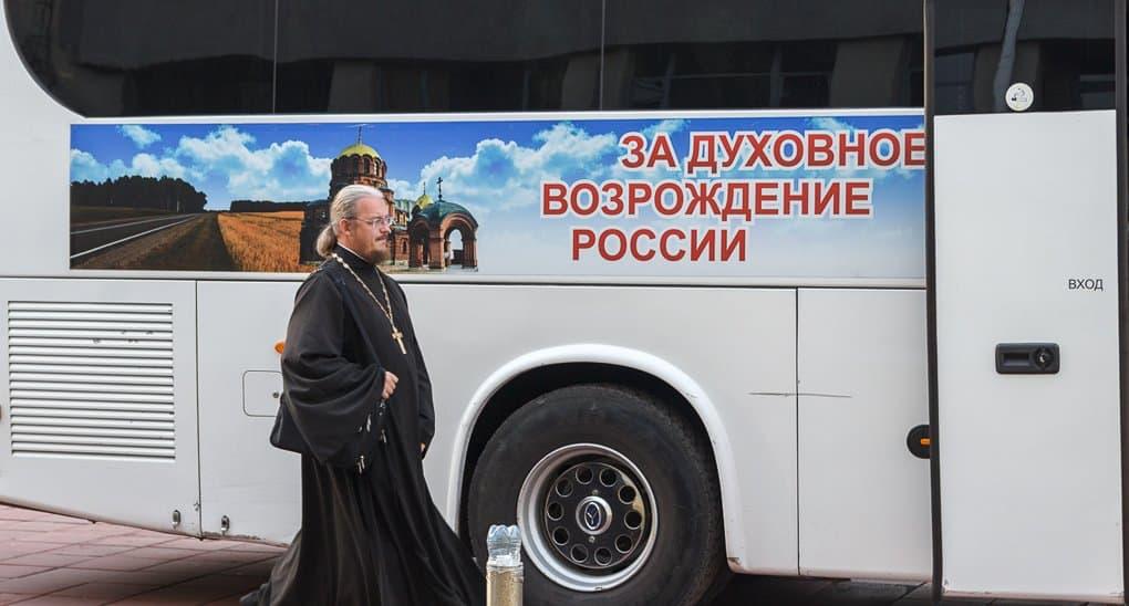 К дальним районам Новосибирской области поехал благотворительный автопоезд