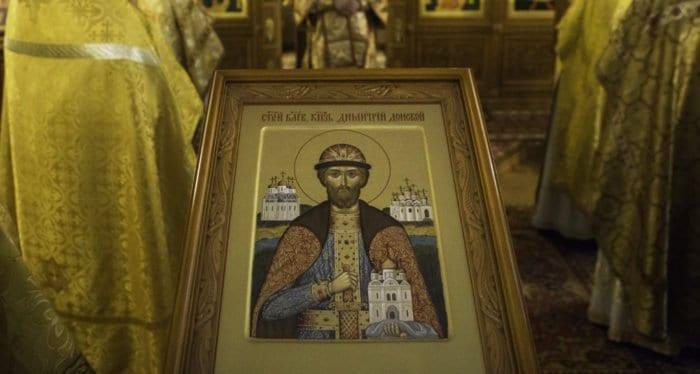 В храме Христа Спасителя отметят 630-летие преставления святого князя Димитрия Донского