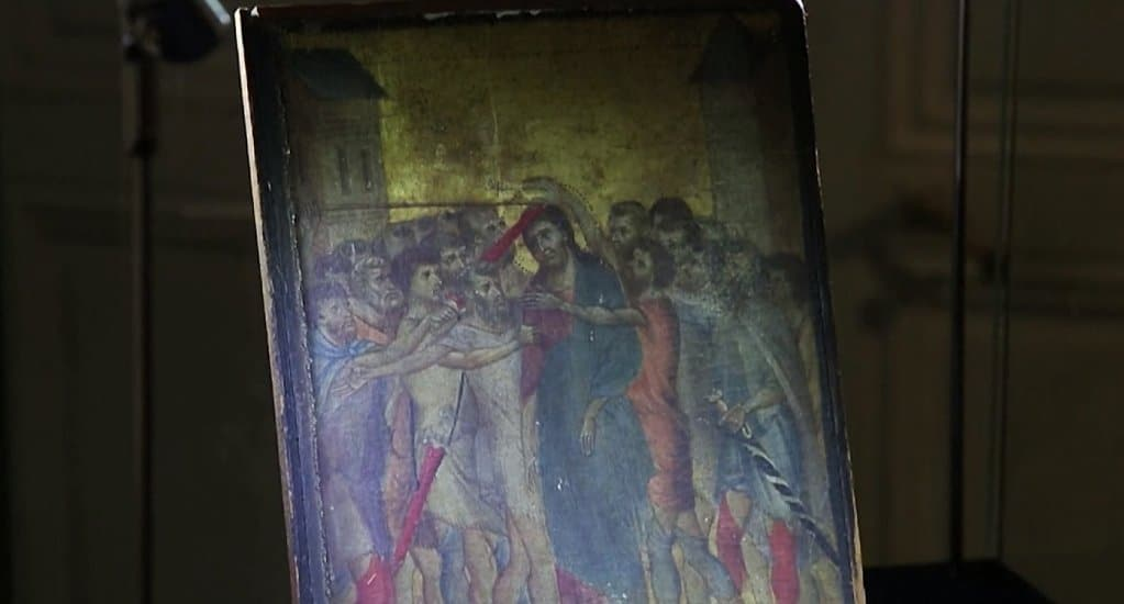 Случайно найденную картину «Поругание Христа» признали национальным достоянием Франции