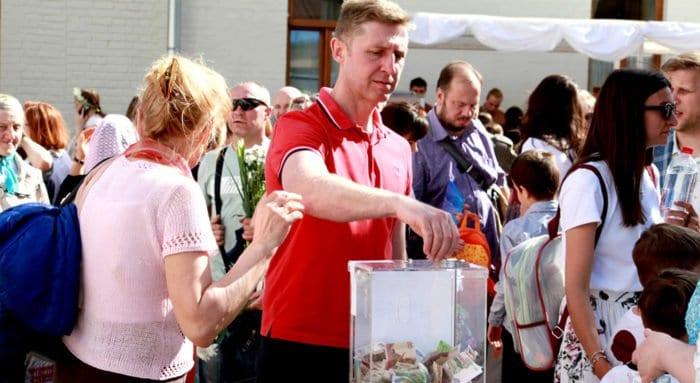 В Церкви разъяснили, где и как можно использовать ящики для пожертвований