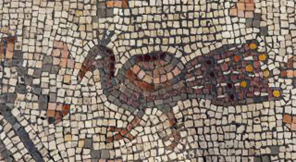 На древней мозаике ученые разглядели чудо насыщения Христом нескольких тысяч человек
