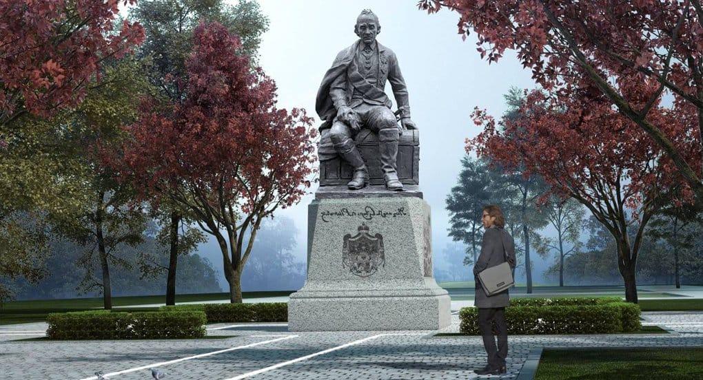 Утвержден проект памятника Александру Суворову для села, где было его родовое имение
