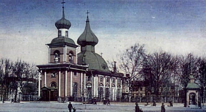В Петербурге появится памятный знак на месте первого в городе храма