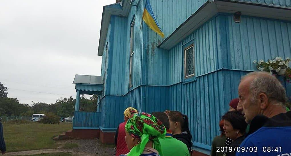 В Ровенской области верующие отстояли храм от захвата сторонниками ПЦУ