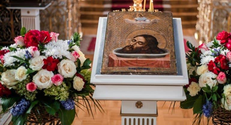 Церковь празднует Первое и Второе обретение главы Иоанна Предтечи
