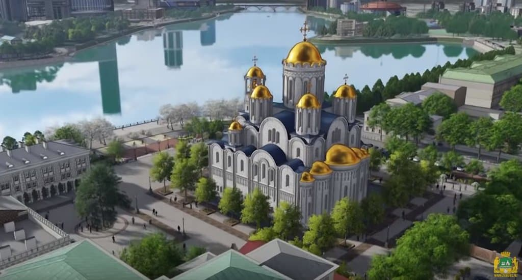 Жители Екатеринбурга выбрали место, где построят храм святой Екатерины