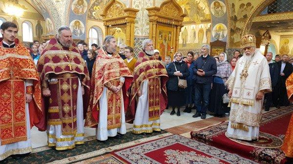 В Бутове особо ощущается, что каждая Литургия – это Литургия мучеников, – епископ Пантелеимон
