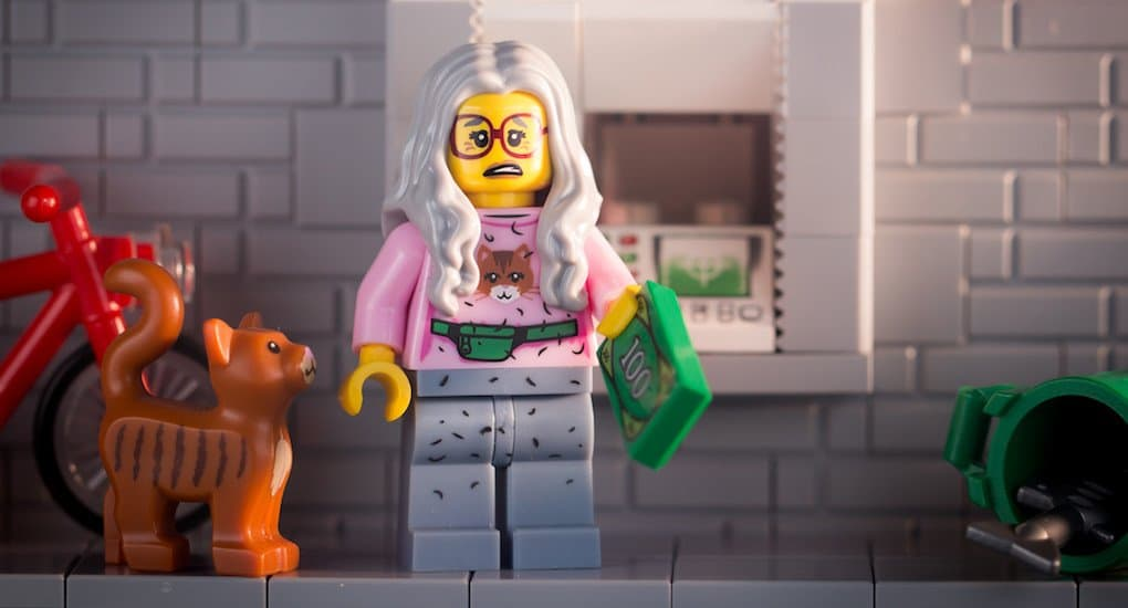 Бабушка тратит пенсию не на внуков, а на котов. Что делать?