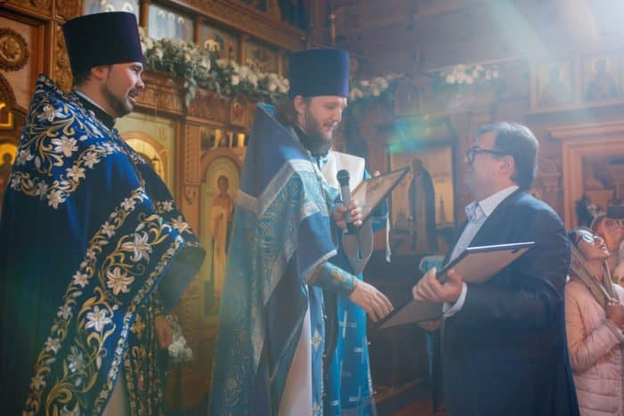 20 лет московскому храму на Десне