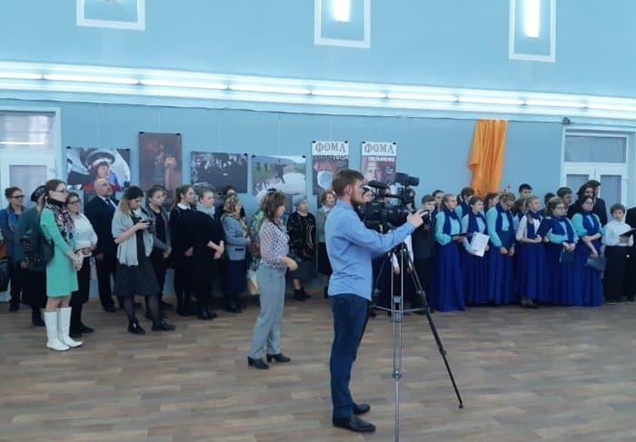 Выставка журнала «Фома» «Верующие» открылась в Алатыре