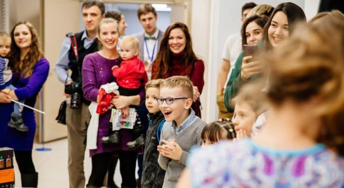 Молодые семьи Петербурга приняли участие в масштабном фестивале