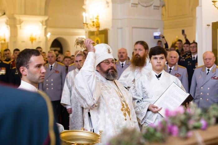 Освящена икона святого Александра Невского для Сухопутных войск России