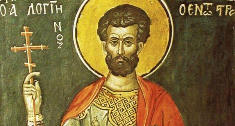 Церковь вспоминает святого мученика Лонгина сотника