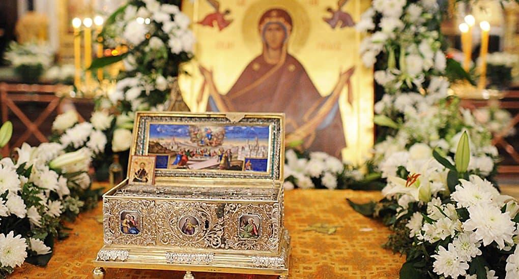 По всем русским храмам Таиланда пронесут Пояс Пресвятой Богородицы
