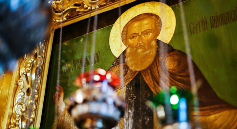 Церковь празднует преставление преподобного Сергия Радонежского