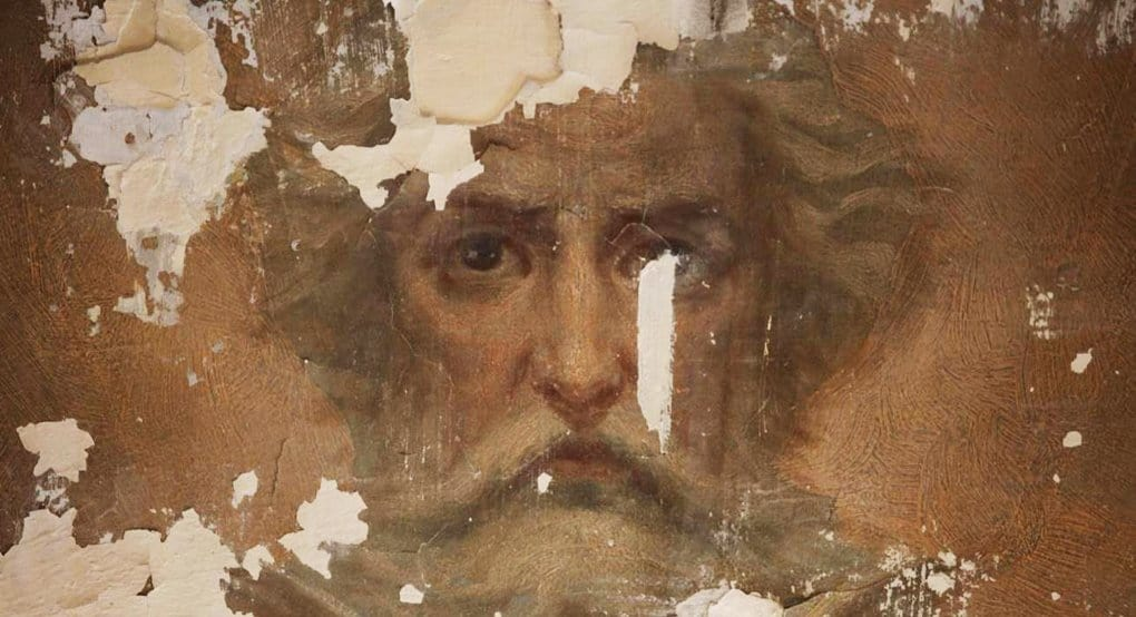 Уникальную роспись обнаружили при реставрации в петербургском храме