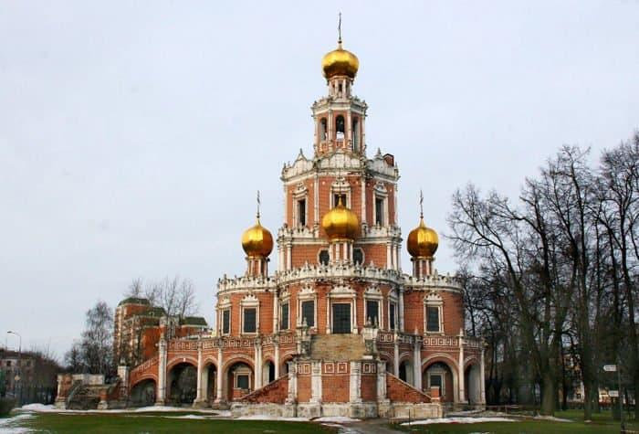 Церкви передали храм Покрова Пресвятой Богородицы в Филях