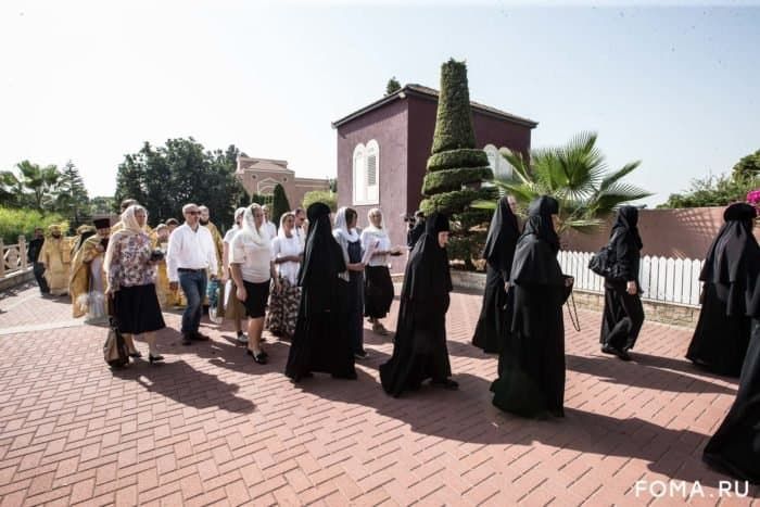 На Святой земле отметили 150-летие подворья святой праведной Тавифы - фото 1