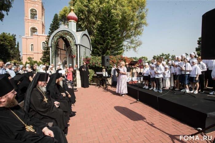 На Святой земле отметили 150-летие подворья святой праведной Тавифы - фото 3