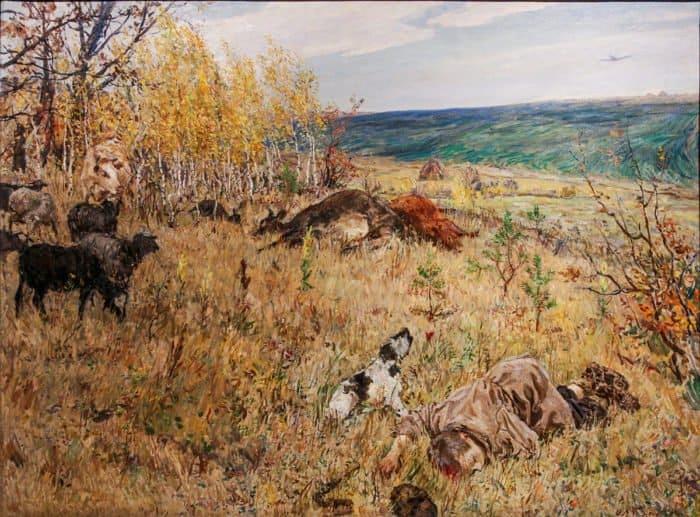 «Память поколений»: 9 поразительных картин, хранящих воспоминания о Великой Отечественной войне