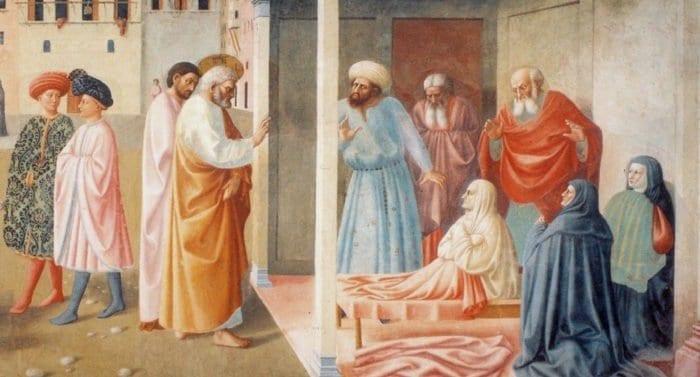 Церковь празднует память святой праведной Тавифы