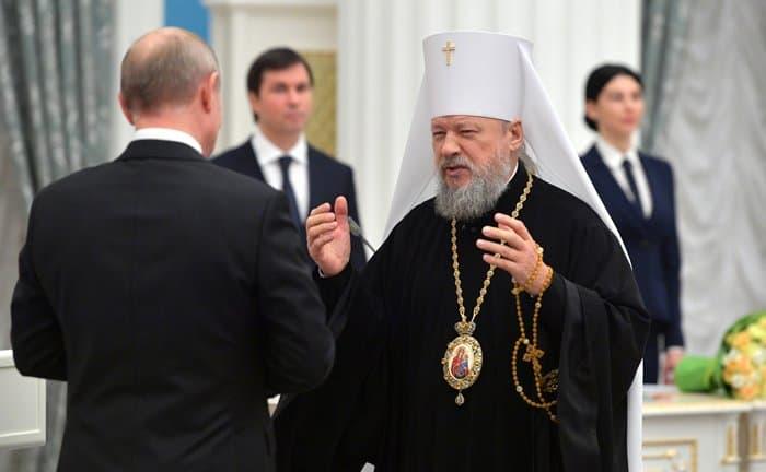 Два митрополита Русской Церкви удостоены госнаград