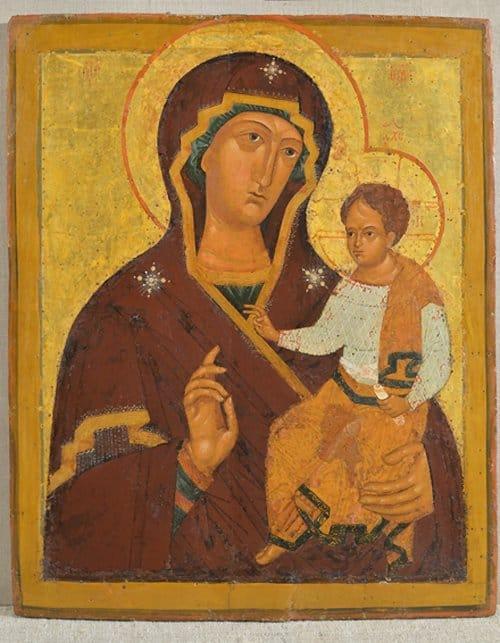 6 ноября в Москве расскажут об открытой редкой иконе Богородицы XVI века