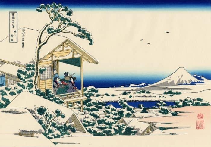 Отсвет Рождества в японских стихах