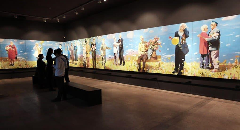 По пути на работу москвичи могут увидеть выставку «Память поколений»