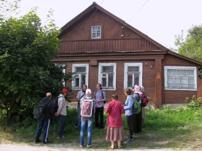 Дом, в котором жил Сергей Иосифович в городе Покров (Больничный пер, 15) Владимирской области свои последние годыФото vk.com/fudel