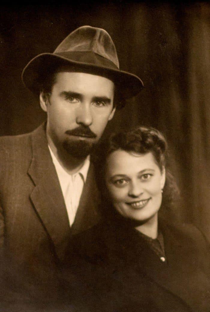 Николай и Тамара, родители архиепископа Симона