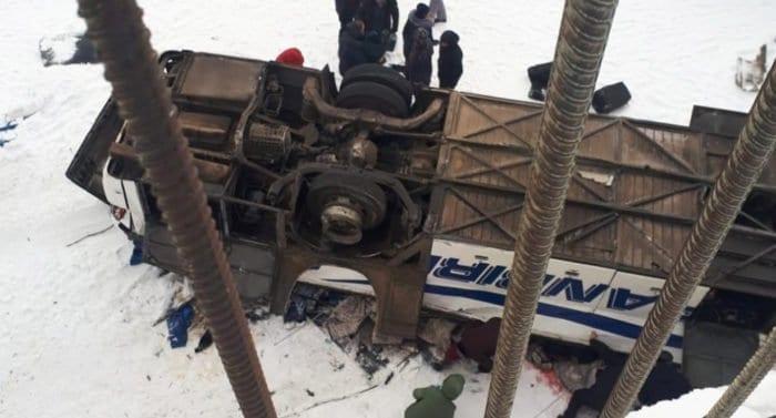 Патриарх Кирилл молится о погибших и пострадавших при падении автобуса с моста в Забайкалье