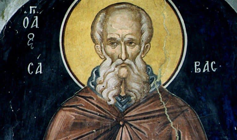 Церковь вспоминает преподобного Савву Освященного