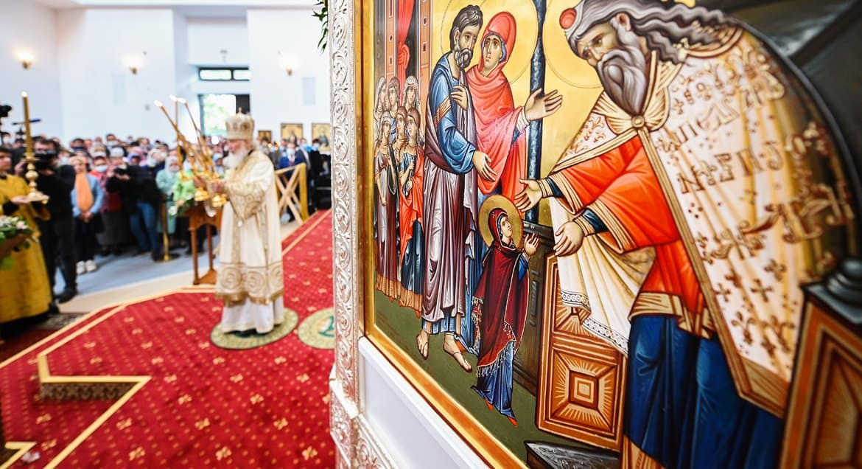 Православные празднуют Введение во храм Пресвятой Богородицы
