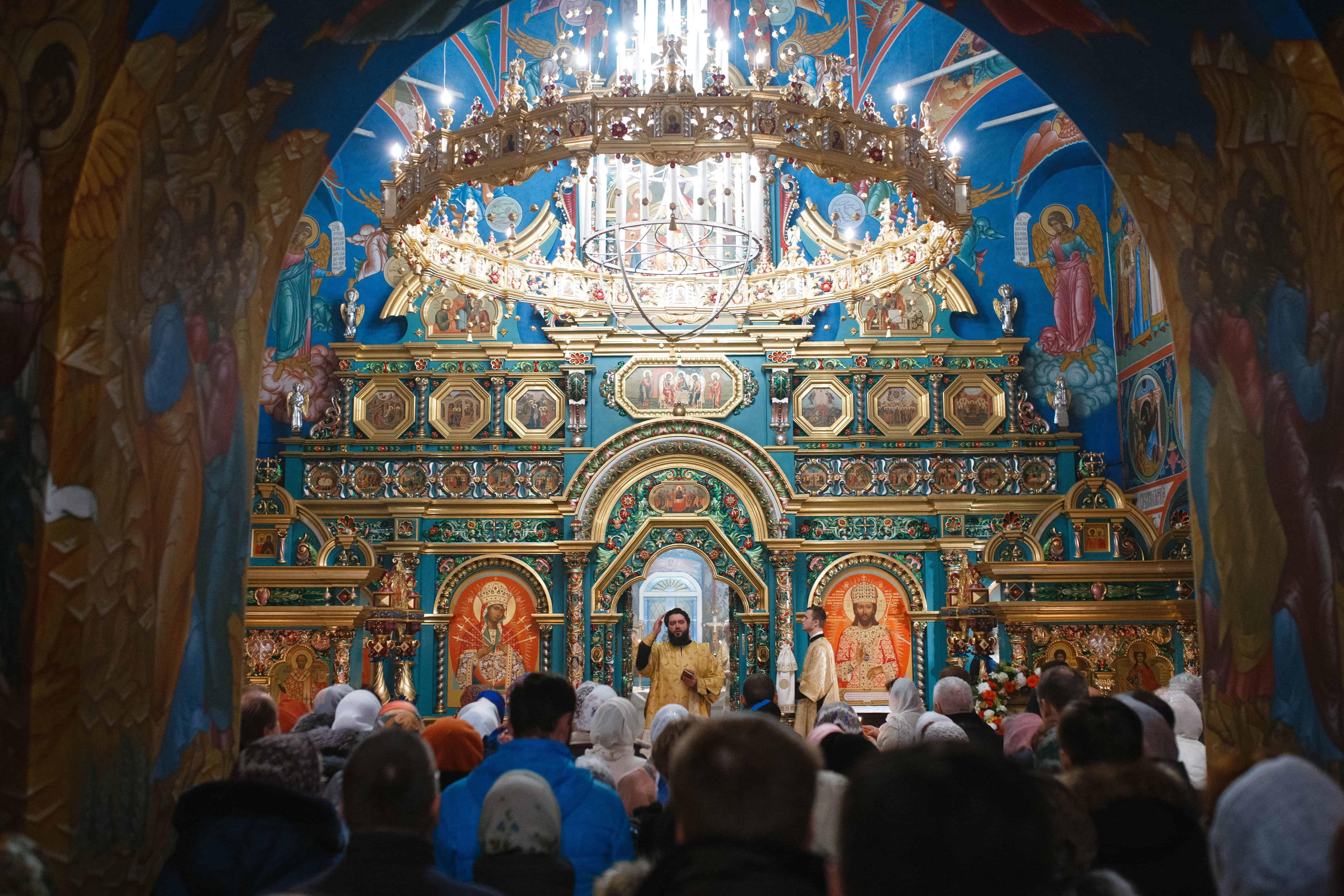 Великое освящение храма архангела Михаила в Станиславле
