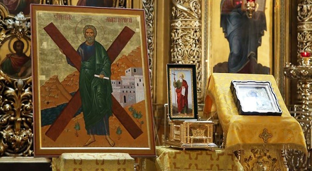 Для десницы апостола Андрея Первозванного из Богоявленского собора изготовили особую раку