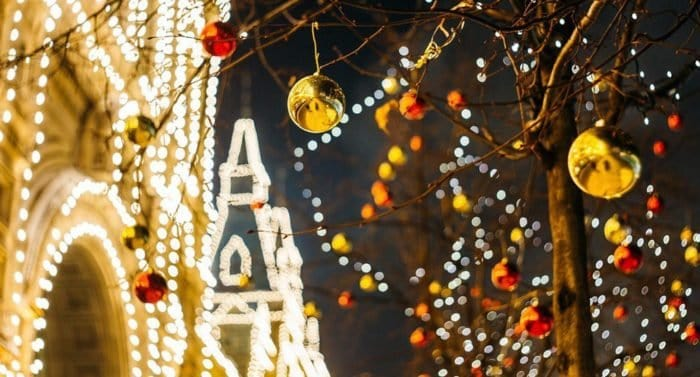 Рождество в Москве 2020