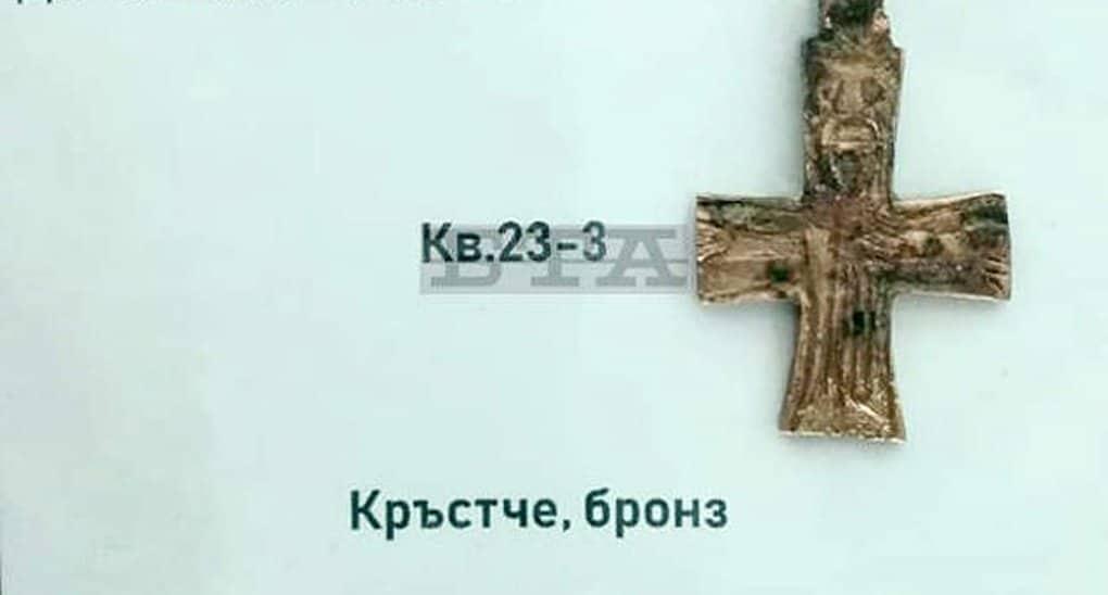 В Болгарии нашли бронзовое распятие X века