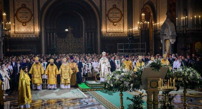 На Рождество 2020 патриарх Кирилл возглавит Литургию в храме Христа Спасителя