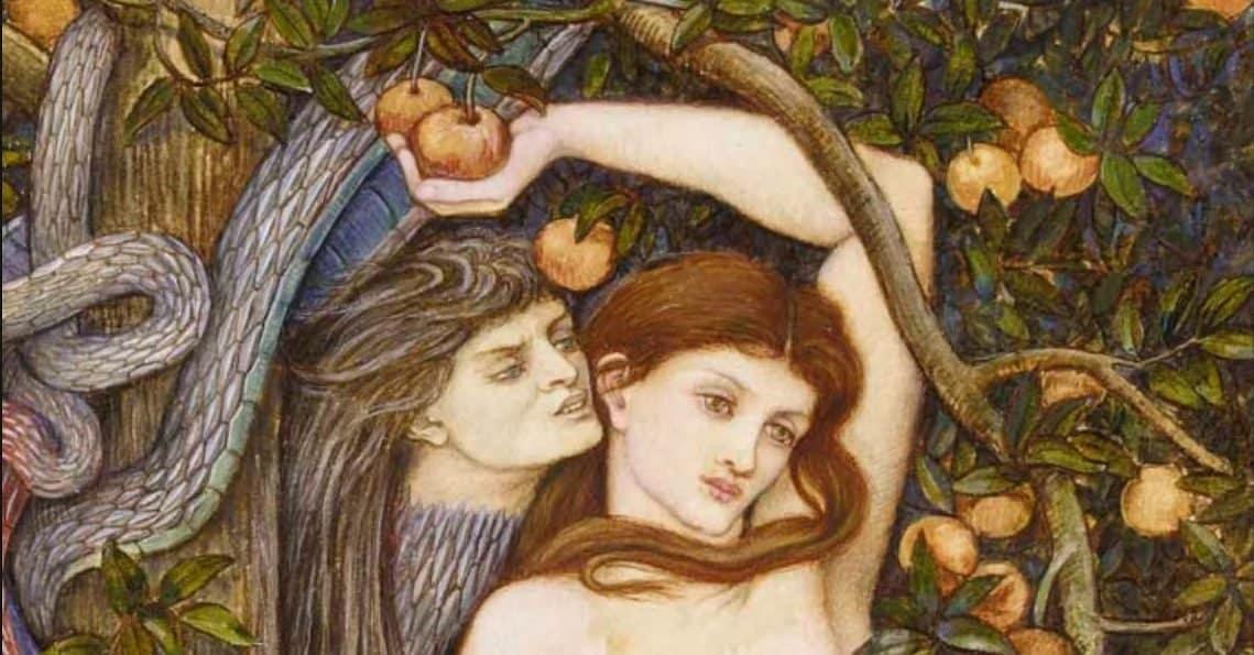 Изменила ли Ева Адаму с сатаной?