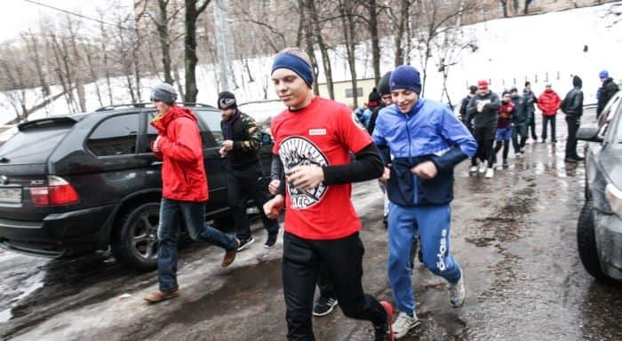 Первый день 2020 года православные встретят пробежкой и молебном
