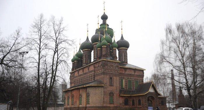 Единственный в России 15-главый храм начали масштабно реставрировать
