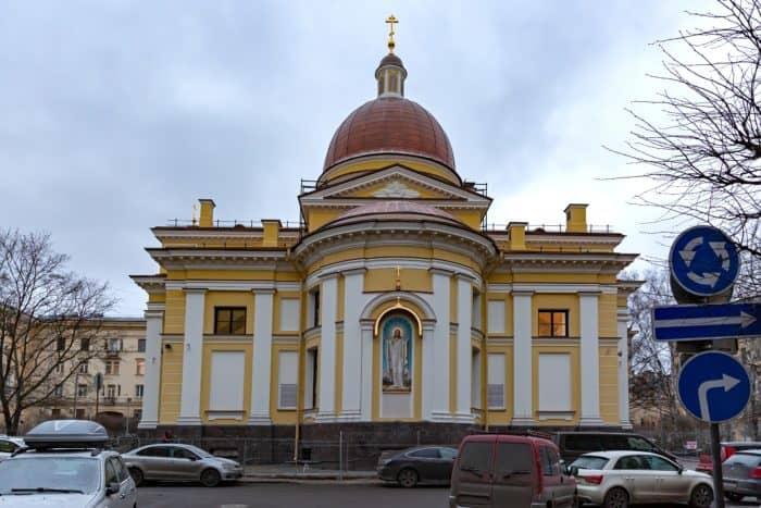Первый престольный праздник храма строителей