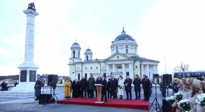Дворянскому роду Бибиковых открыли памятник в Подмосковье