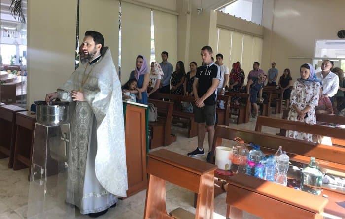 Православные мексиканского Канкуна отметили годовщину создания прихода