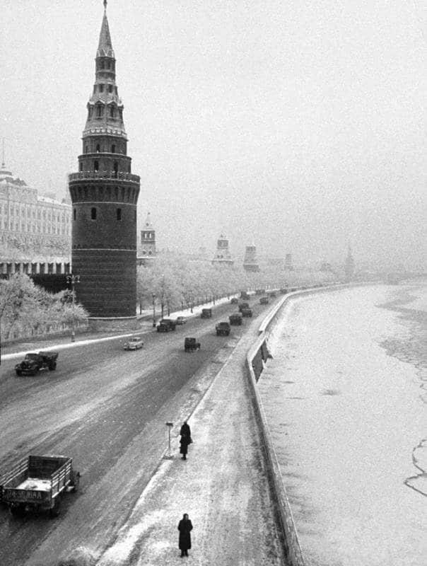 Москва в конце 1950-х-начале 1960-х