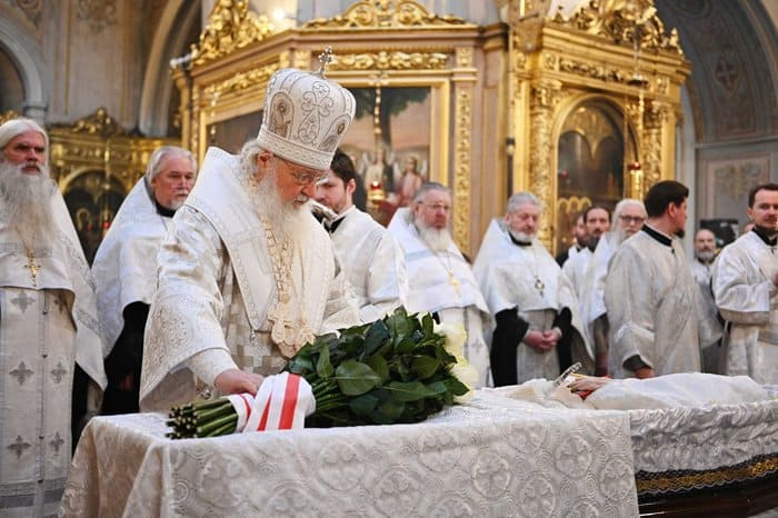 Состоялось отпевание священников Матфея Стаднюка и Всеволода Чаплина