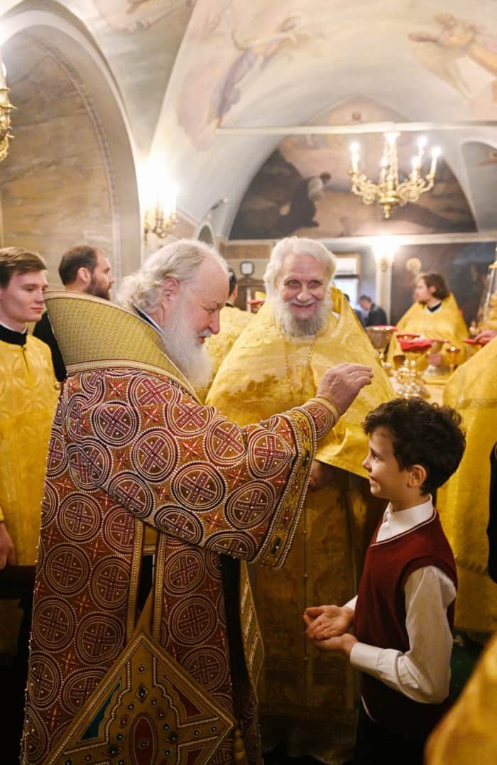Наш Патриарх: 20 ярких фотографий служения Предстоятеля за минувший год