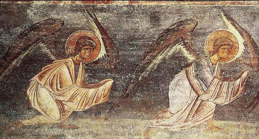 Нашел в интернете, что мой ангел без крыльев. Почему?